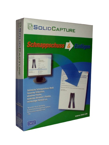 SolidCapture Monitor-Schnappschuss Computer Bildschirm Screenshot Software Programm